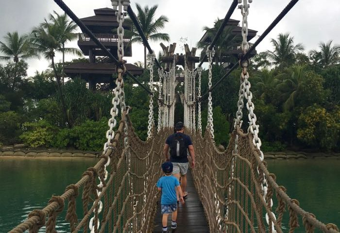 The most amazing suspension bridge taking you to Asia's southern-most point