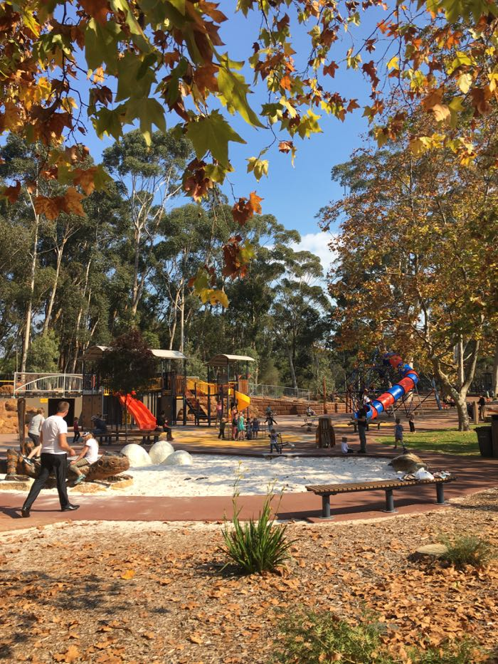 Mundaring Sculpture playground is great for all ages