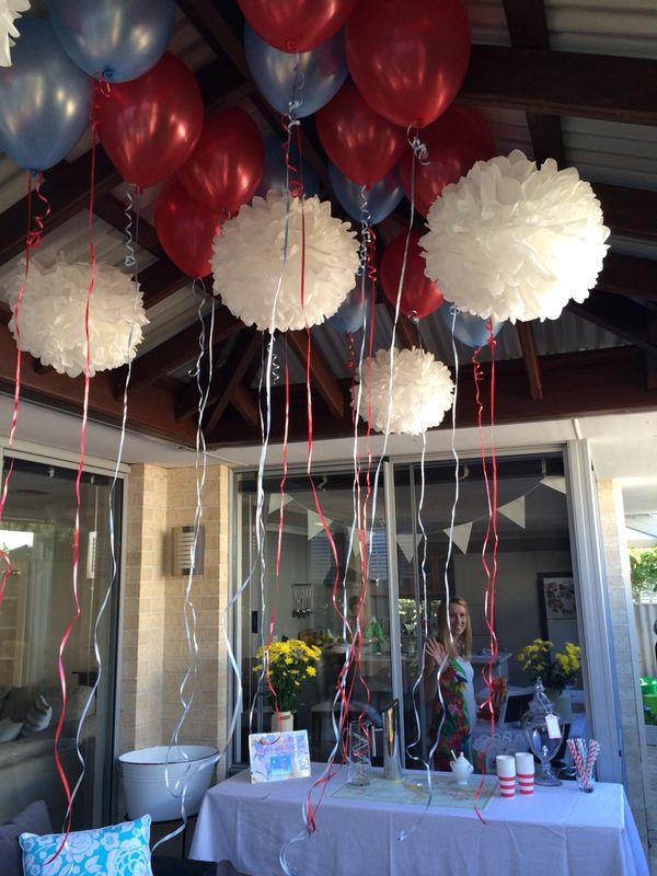 Balloons Plane Themed Boys Party