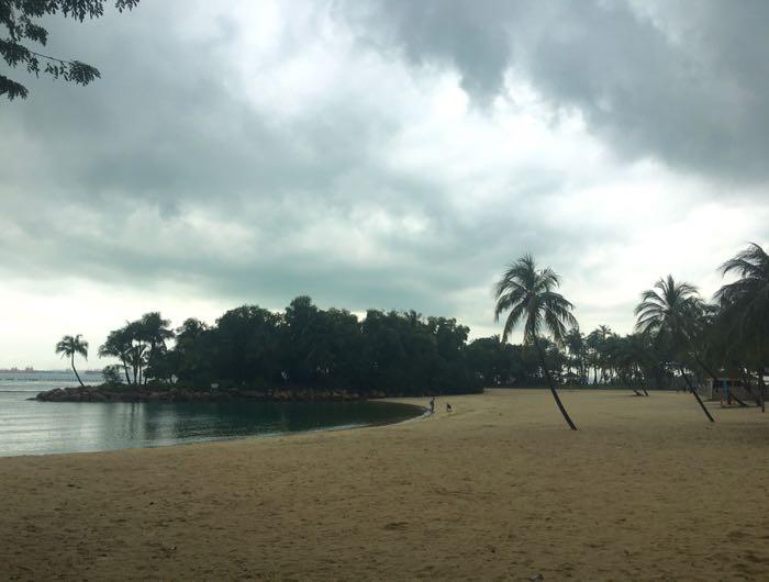 Tropical Palawan Beach, Sentosa Island